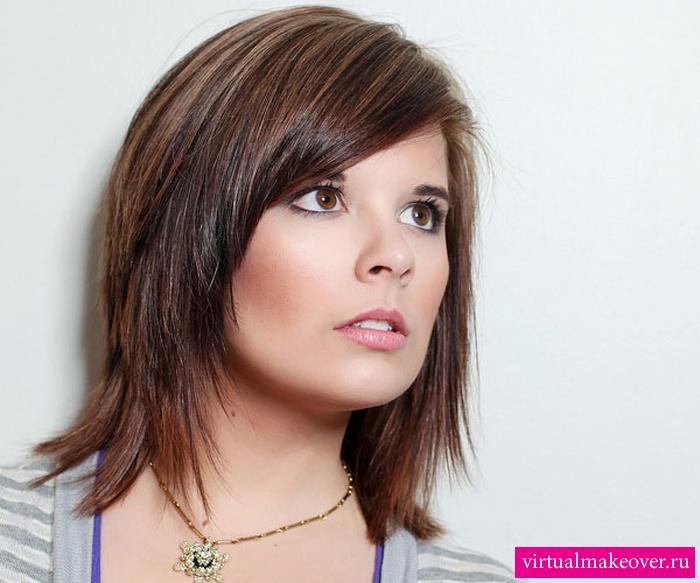 Красивые волосы на заколках - 7739