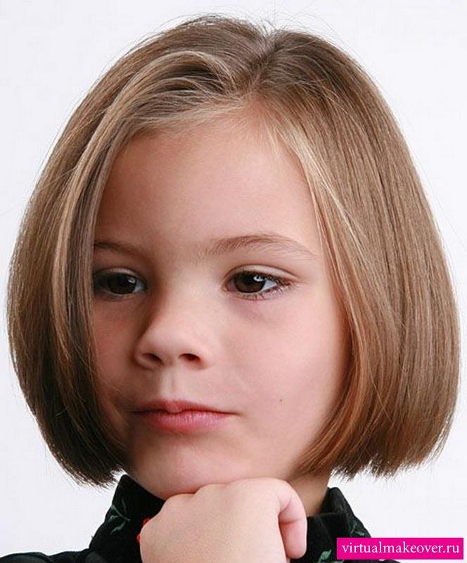 Фото стильные стрижки для девочек