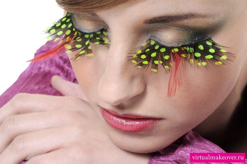 Красивый и модный макияж глаз фото
