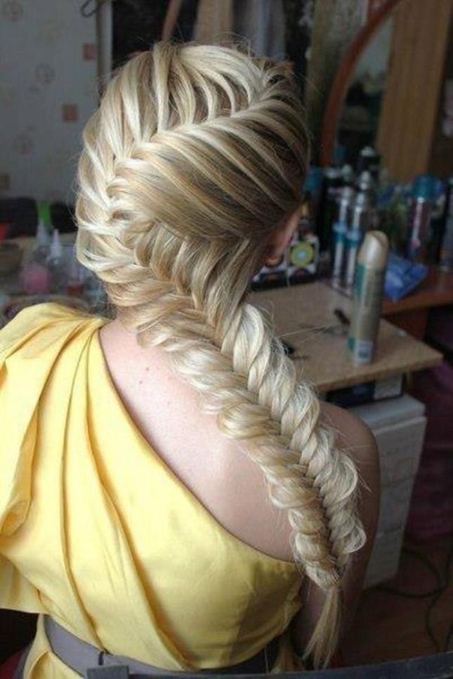 Красивые плетение кос на средние волосы фото