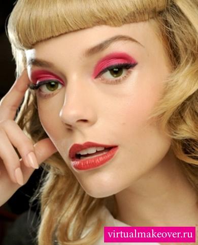 Фото макияжа для вечеринки