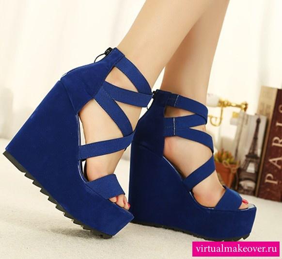 Модные туфли на платформе для девочек фото