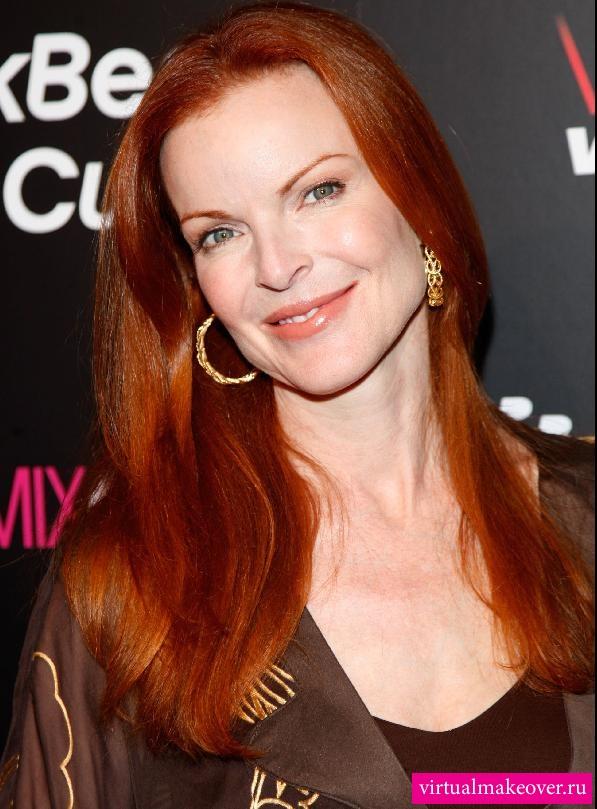 Рыжие волосы фото