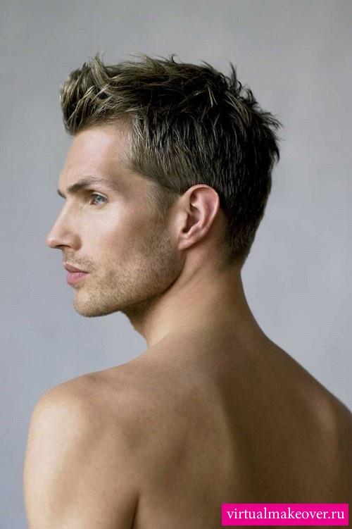 мужские модные причёски.