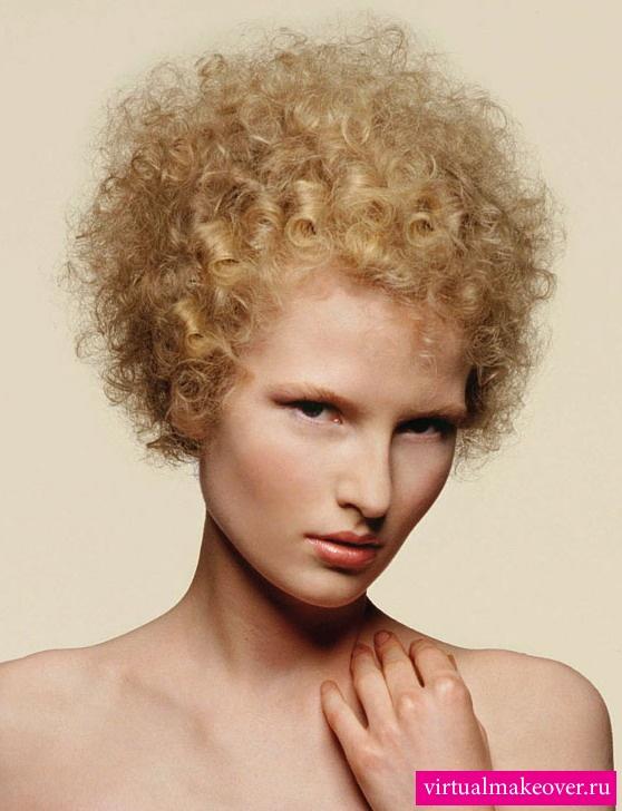 фото причесок светлые волосы