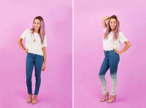 3 простых способа переделать узкие джинсы