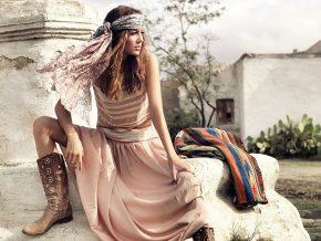 40 вдохновляющих нарядов в стиле Бохо шик: совмещаем несовместимое