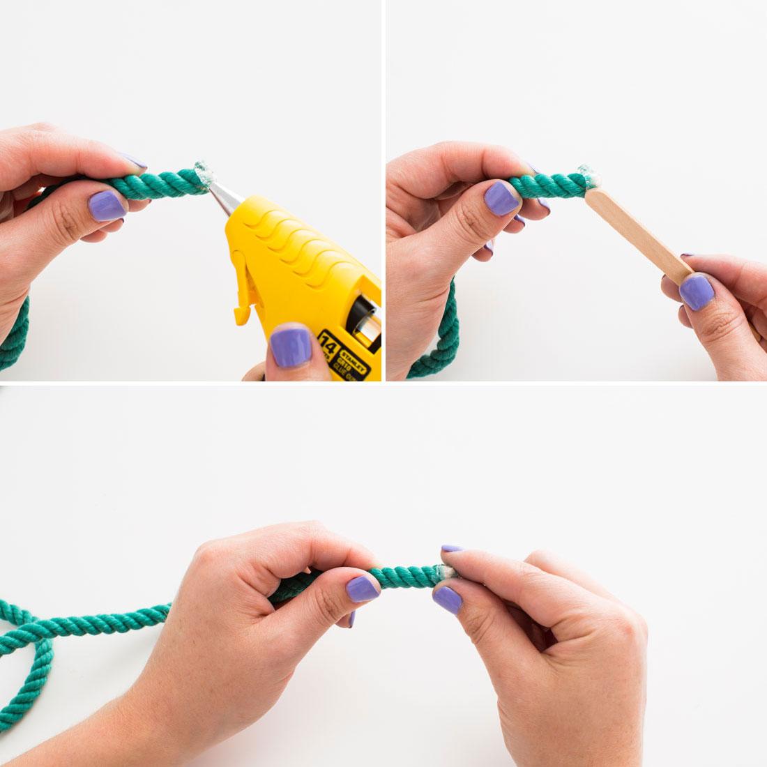 Ремень из веревок своими руками