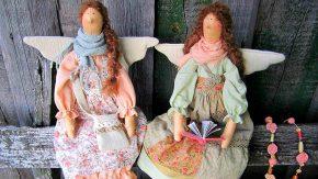 две куклы Тильды-ангелы