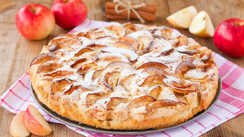 Фото рецепт пирог с яблоками