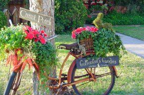 9 идей необычных украшений для сада