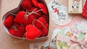 коробочка ко дню святого валентина