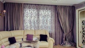 шторы в гостинной