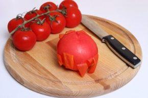 помидоры очистить от кожы