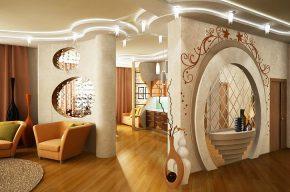 Меняем пространство квартиры: как сделать стену из гипсокартона