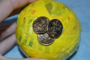 этапы нанесения монет