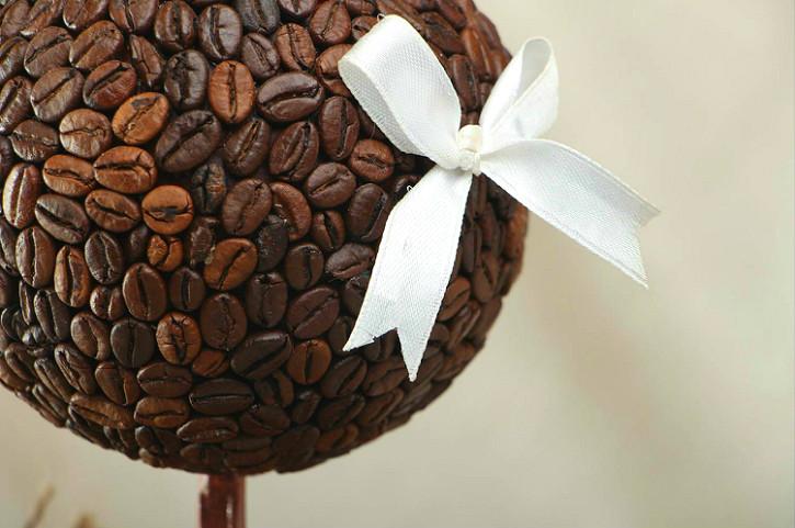 топиарий из кофе - главная