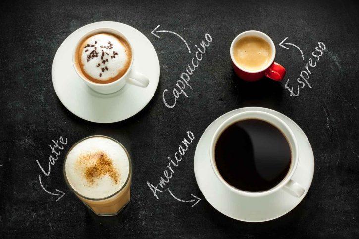 кофе с названиями