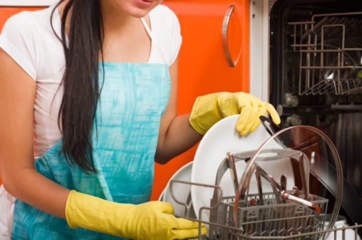 мытье посудомоечной машинки
