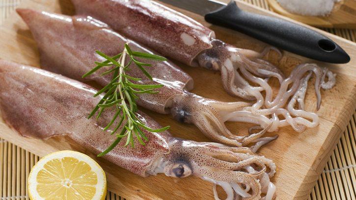 как приготовить кальмара
