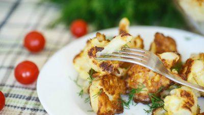 Вкусные рецепты цветной капусты на сковороде
