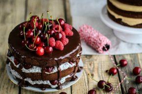 шоколадный торт - мечта сладкоежки