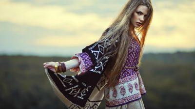 Стиль бохо в одежде элегантных дам