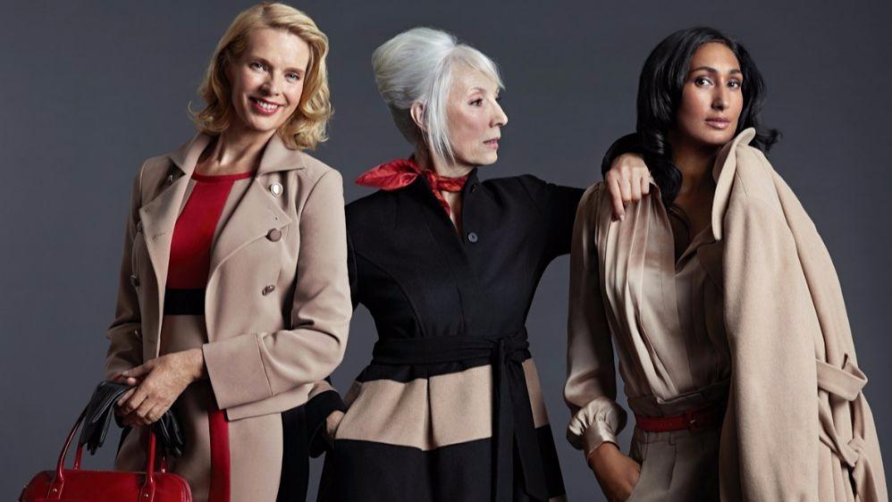 Стильные женщины 40 лет