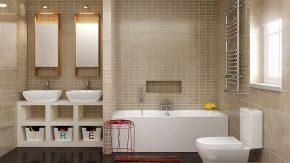 Как организовать пространство в ванной - 15 гениальных идей