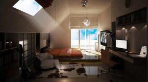 Интерьер комнаты для подростка мальчика