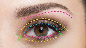 Пошаговый макияж глаз
