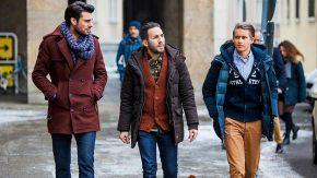 Зимняя мужская мода