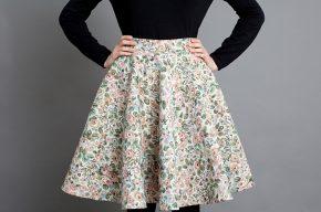 Как сшить юбку полусолнце