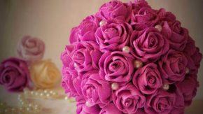 цветы из бумаги главная