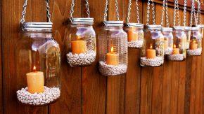 Полет фантазии: идеи декорирования стеклянной банки